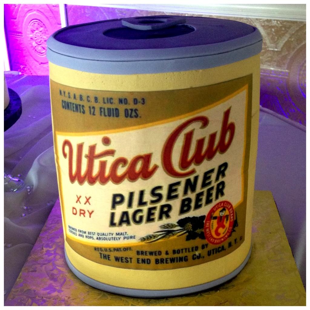 utica Club #beer #wedding #cake - I Love Utica NY